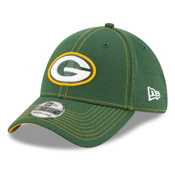 New Era 100Yr Packers Sideline Cap Green