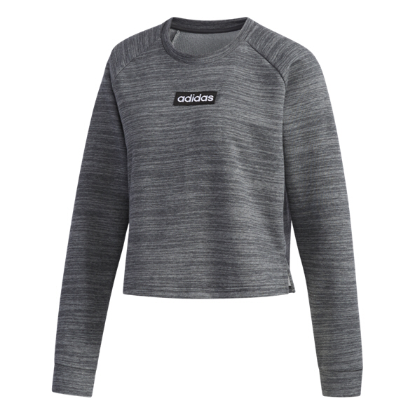 adidas Sweat Women's French Terry Top, Grey