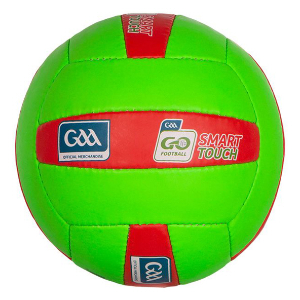 O'Neills Smart Touch Gaelic Football, 11-12, Green