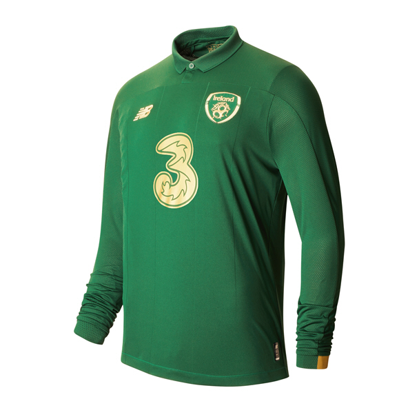 NB Ireland FAI 2020 Home LS Jersey, Green