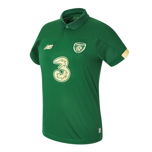 NB Ireland FAI 2020 Home Women's Jersey, Green