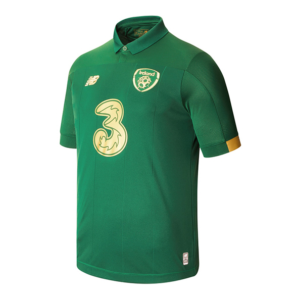NB Ireland FAI 2020 Home Kids' Jersey, Green