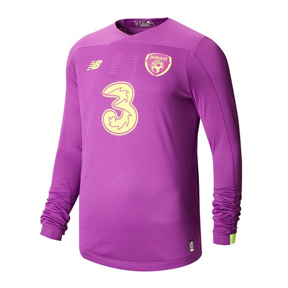 NB Ireland FAI 2020 Home LS GK Kids' Jersey, Pink