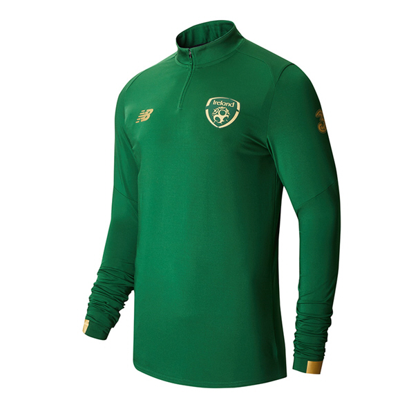 NB FAI 2020 On-Pitch Midlayer ¼-Zip Top, Green