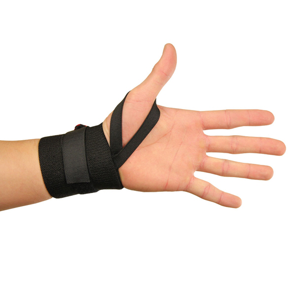 Fitness Mad Lifting Support Wrap Black