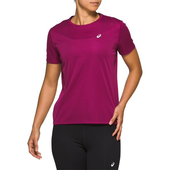 Asics Katakana Women's Running T-Shirt, Purple