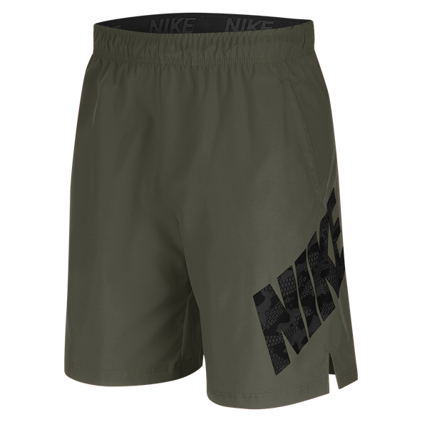 "Nike Flex 8"" Men's Training Short, Green"