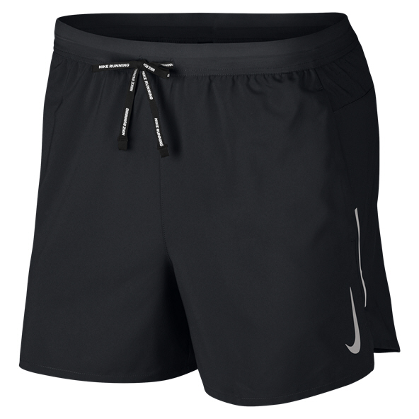 Nike Mens Stride Short Black/Silver