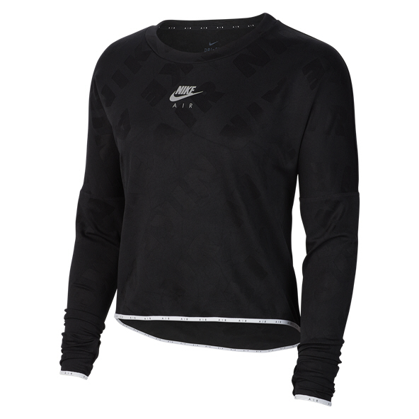 Nike Air Women's Midlayer Crew Top, Black