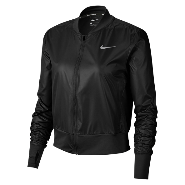 Nike Swoosh Women's Running Jacket, Black