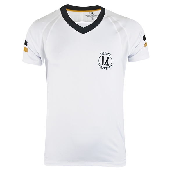 Keohane Kerry American Football Jersey, White/Black