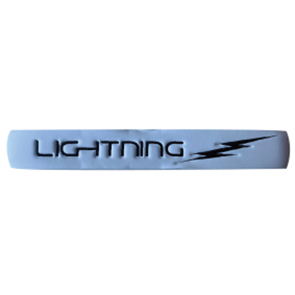 Lee Sports Lightning XL Grip, White Black