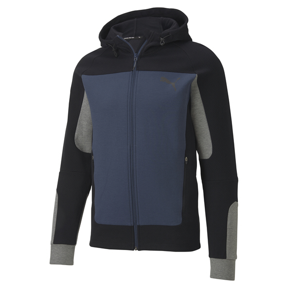 Puma Evostripe Men's Hooded Jacket, Blue