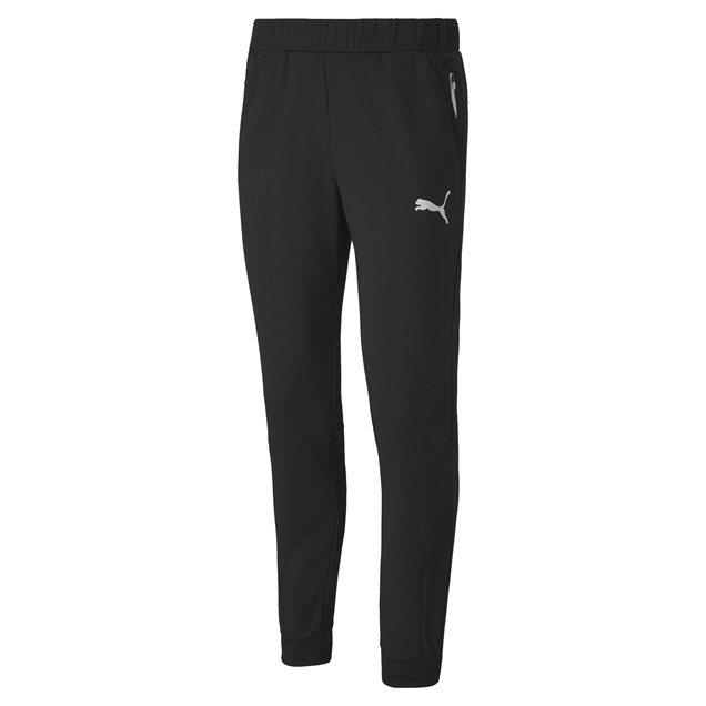 Puma Mens Knit Pants Black