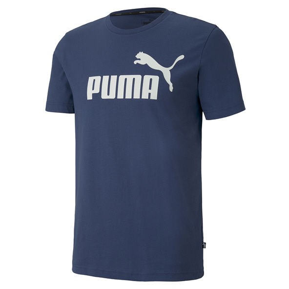 Puma ESS Logo Men's T-Shirt, Blue