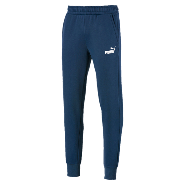 Puma ESS Logo Mens Pants Blue