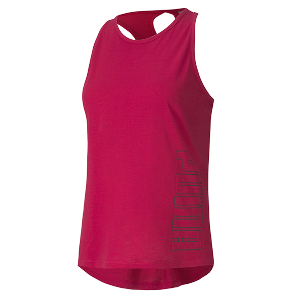Puma Twisted Logo Women's Tank Top, Pink