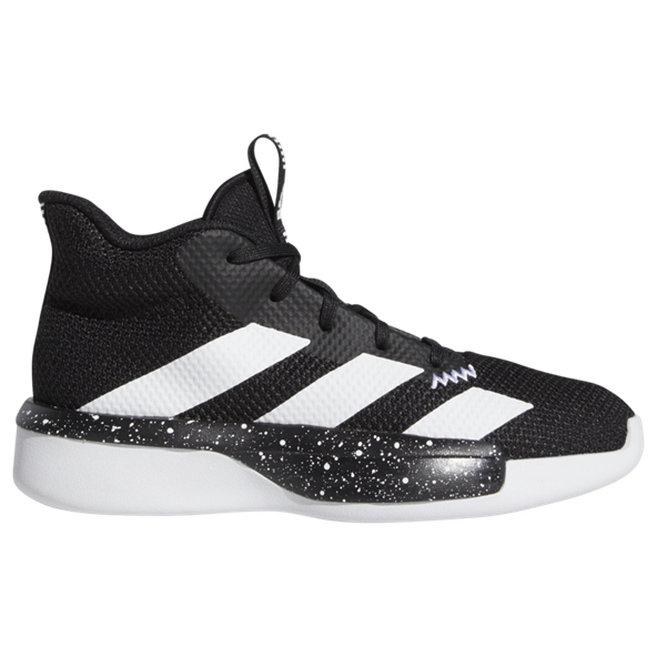 adidas Pro Next 2019 Boys' Basketball Shoe, Black