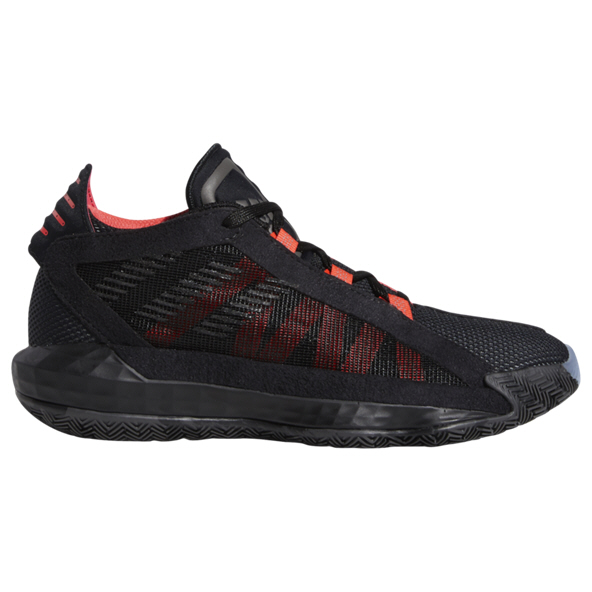 adidas Dame 6 Boys' Basketball Shoe, Black
