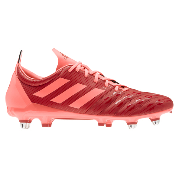 adidas Malice SG Rugby Boot, Scarlet