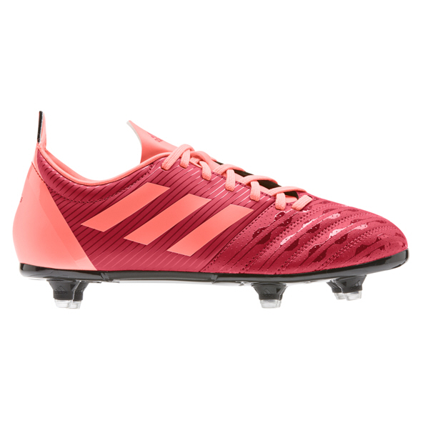adidas Malice SG Kids' Rugby Boot, Scarlet
