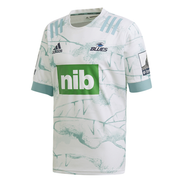 adidas Blues 2020 Away Parley Jersey, White