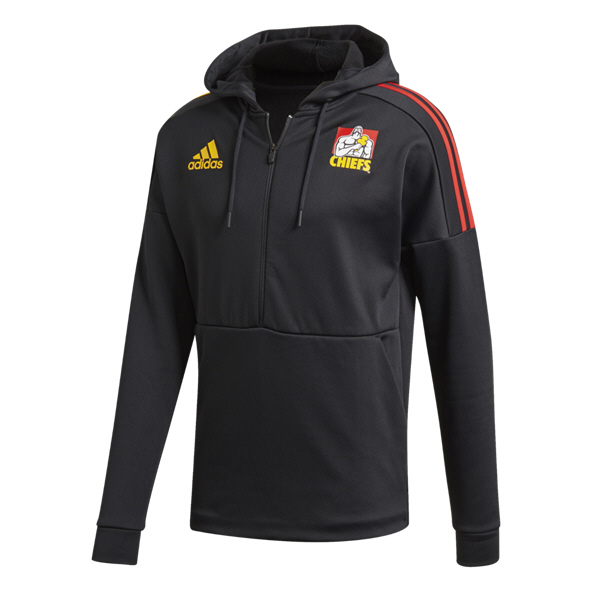 adidas Chiefs 20 Hood HZ Top Black