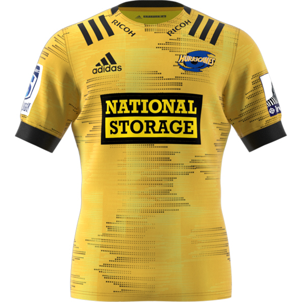 adidas Hurricanes 2020 Home Jersey, Yellow