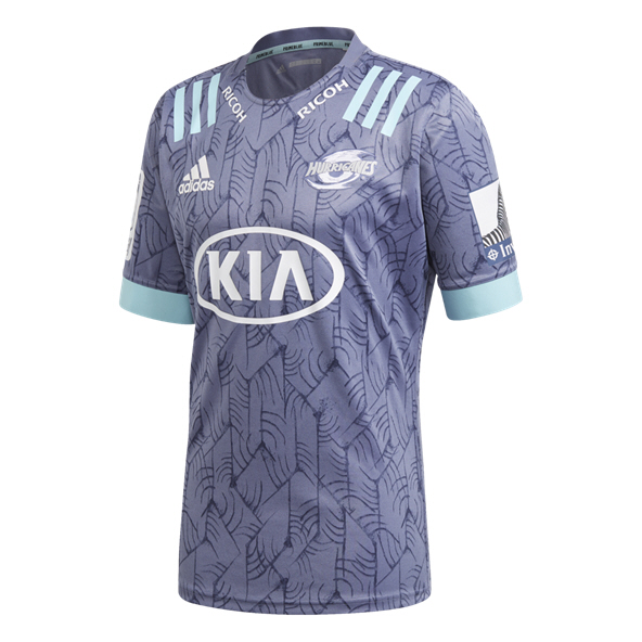 adidas Hurricanes 2020 Away Parley Jersey, Grey