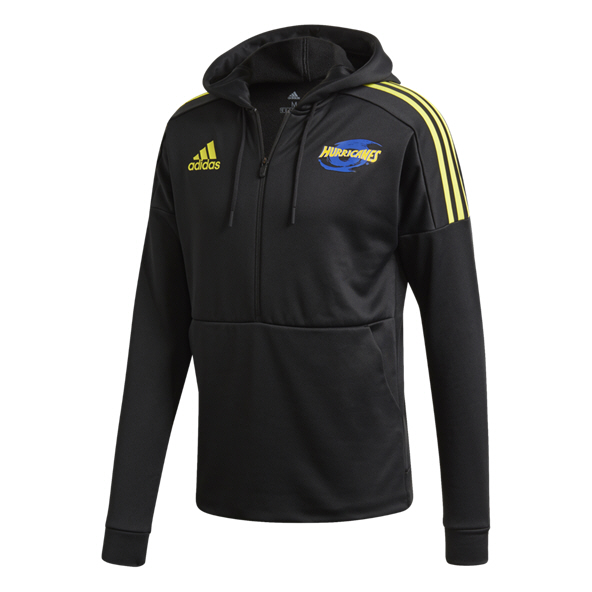 adidas Hurricanes 2020 ½-Zip Hoody, Black
