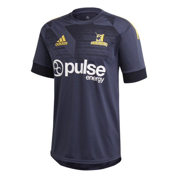 adidas Highlanders 2020 Training T-Shirt, Navy