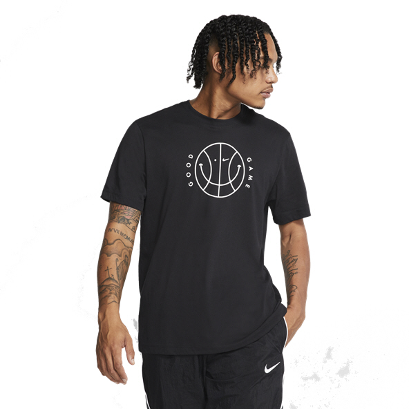 Nike Verbiage Men's Basketball T-Shirt, Black
