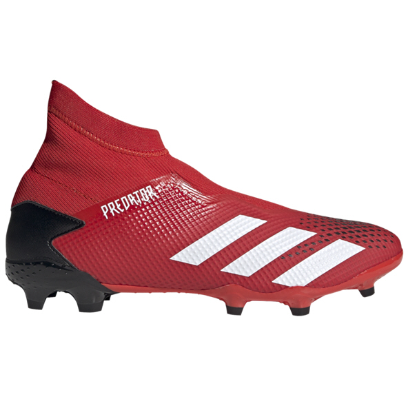 adidas Predator 20.3 Laceless FG Football Boot, Red