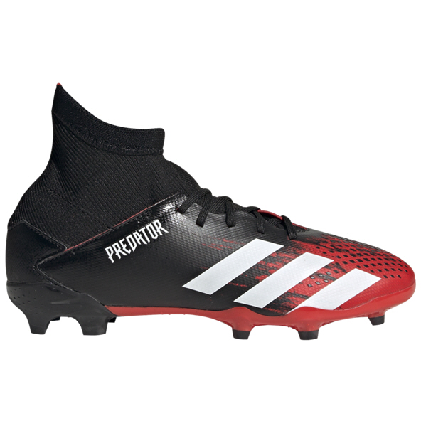 adidas Predator 20.3 FG Kids' Football Boot, Black