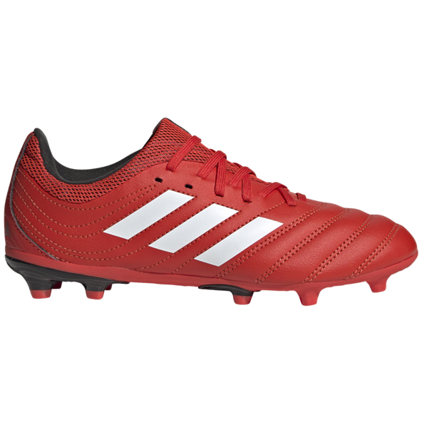 adidas Copa 20.3 FG Kids' Football Boot, Red