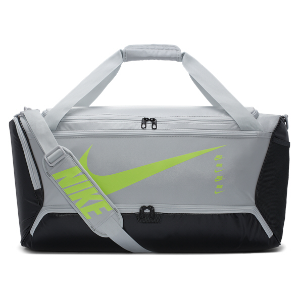 Nike Brasilia 9.0 Duffel Bag - Medium, Grey