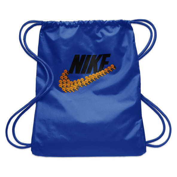 Nike Graphic Gymsack, Blue