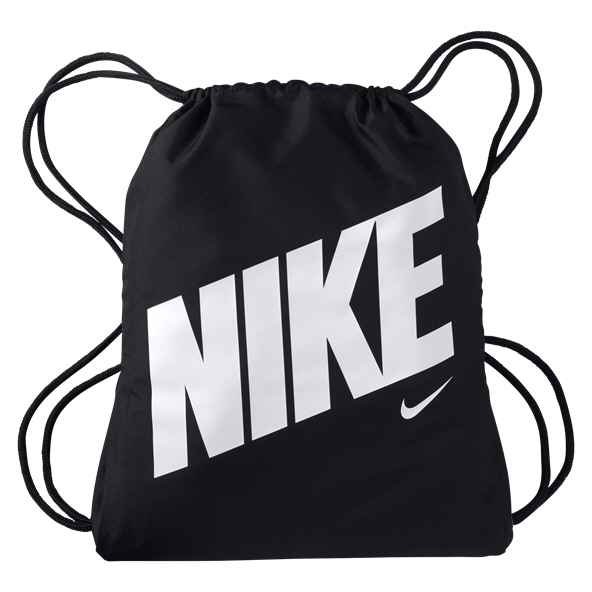 Nike Kids' Graphic Gymsack, Black