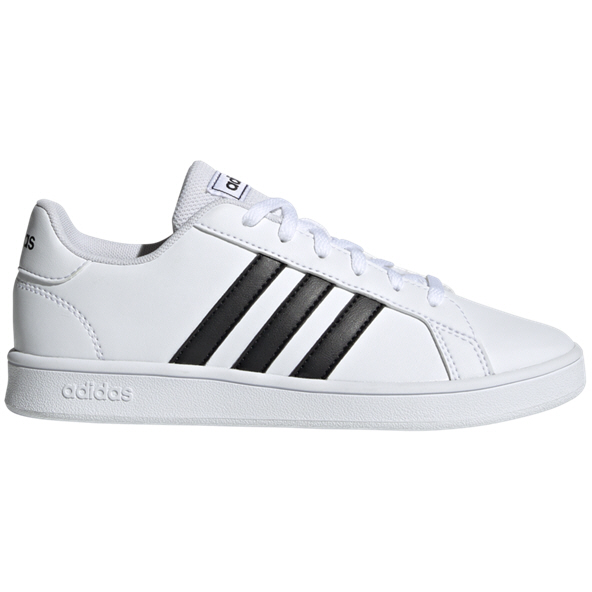 adidas Grand White Girls' Trainer, White