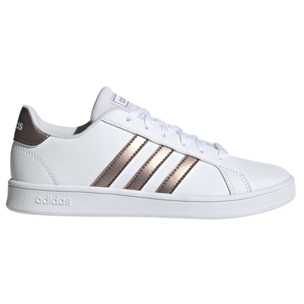 adidas Grand Court Girls' Trainer, White