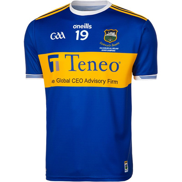 O'Neills Tipperary 2019 Champions Jersey, Blue
