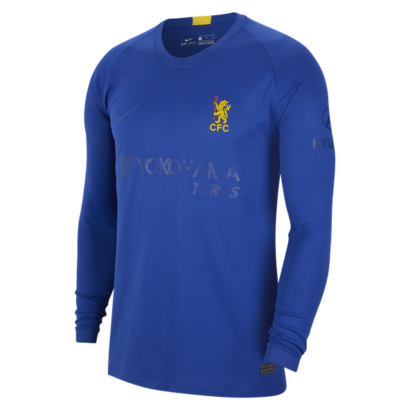 Nike Chelsea FA Cup Long Sleeve Jersey, Blue