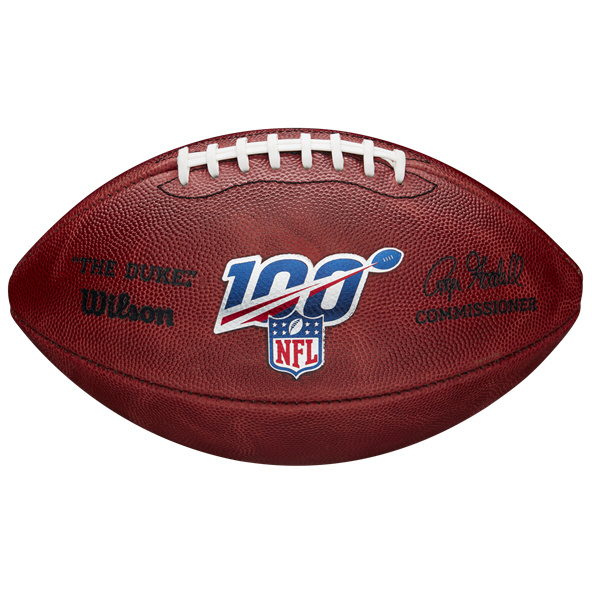 Wilson NFL 100 The Duke Game Ball