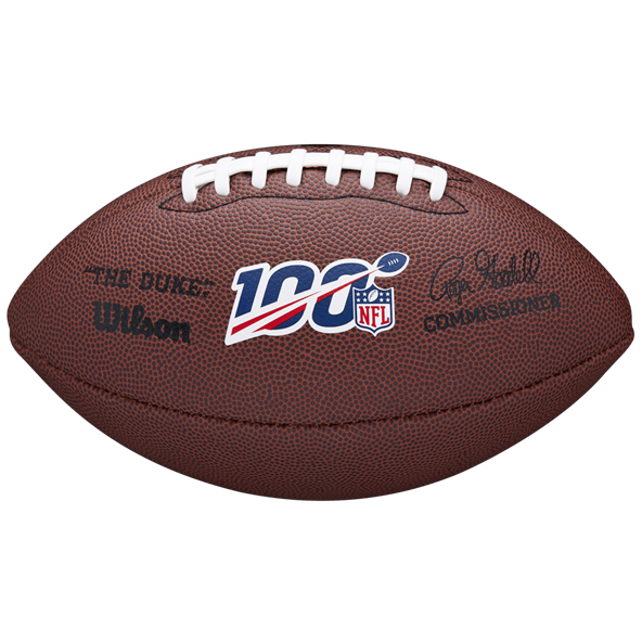 Wilson NFL 100 The Duke Replica Ball