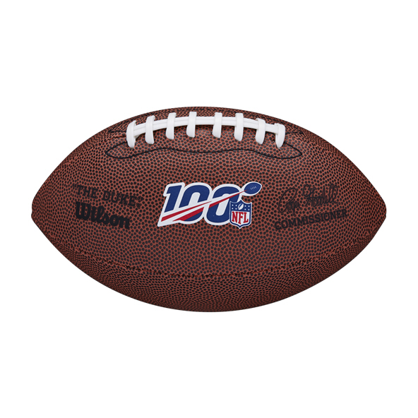 Wilson NFL100 The Duke Replica Mini Ball