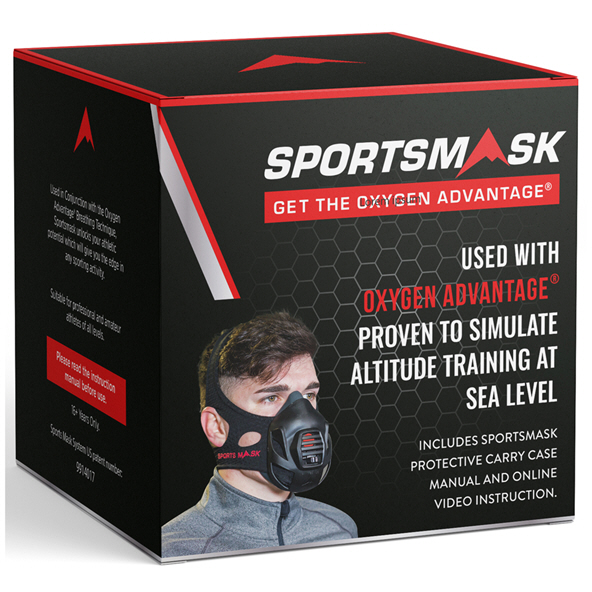 SportMask Set, Black