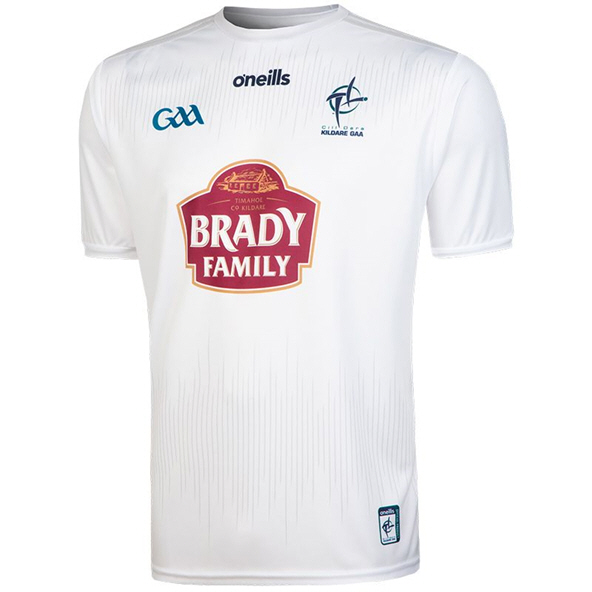 O'Neills Kildare 2020 Player Fit Home Jersey, White