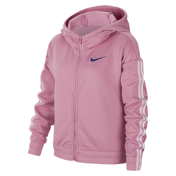 Nike Studio Full-Zip Girls' Hoody, Pink