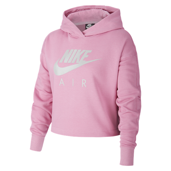 Nike Air Swoosh Girls' Hoody, Pink