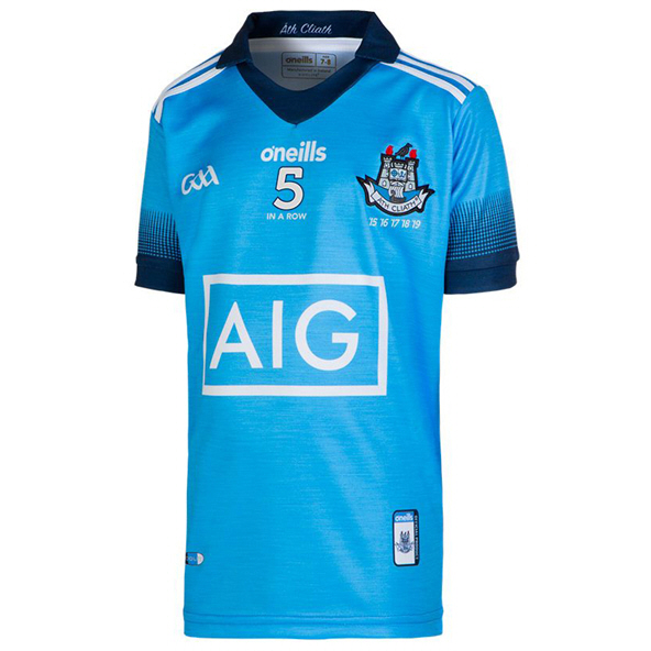 O'Neills Dublin 5 In A Row Kids' Jersey, Blue